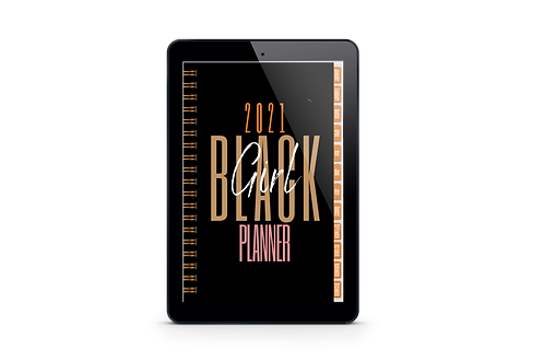2021 Black Girl Digital/Printable Planner