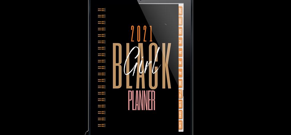 2021 Black Girl Digital/Printable Planner