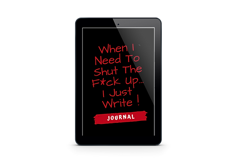 When I Need to Shut the F*ck Up I Just Write Journal