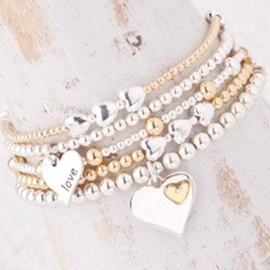 Olivia Gold Bracelet Set Collection