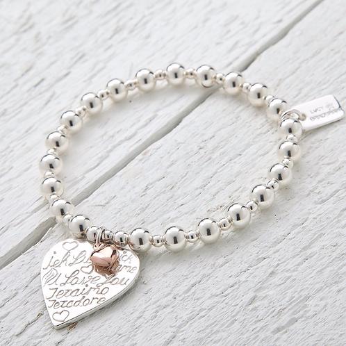 Amore Rose Gold Bracelet