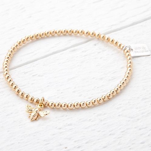 Belinda Gold Bee Bracelet
