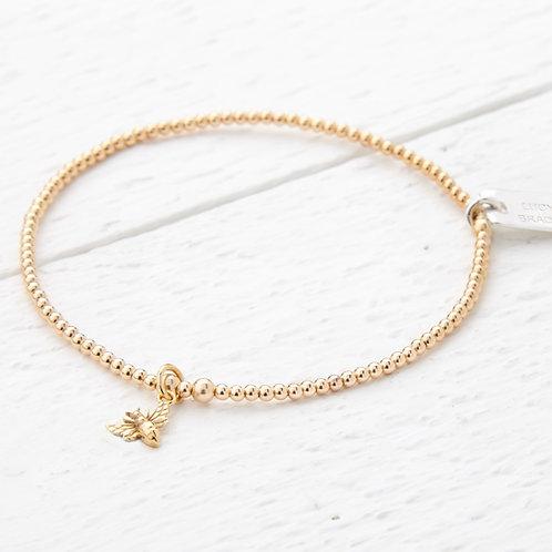 Millie Tiny Gold Bee Bracelet