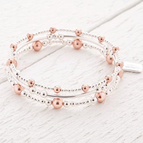 Imogen Rose Gold Bracelet Stacking Set