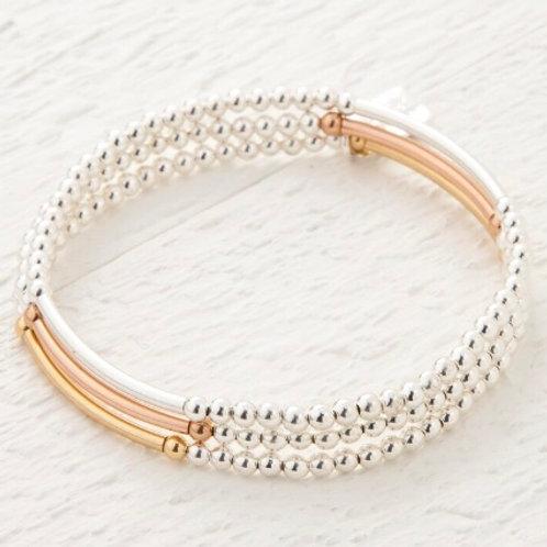 Saffron Mix Set of 3 Bracelets