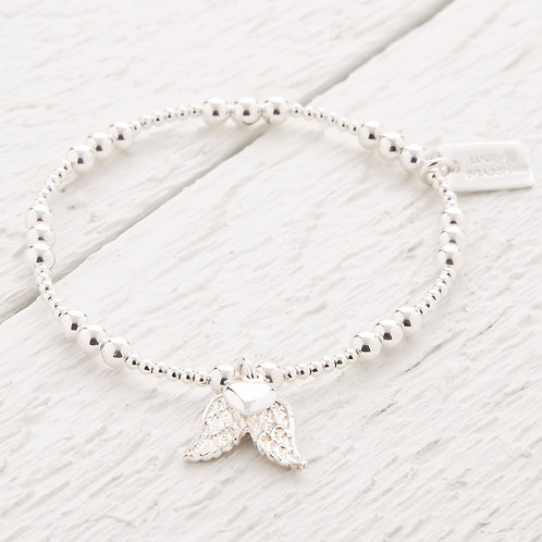 Micha Silver Angel Wing Bracelet