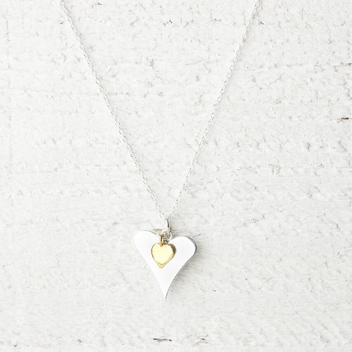Lola Gold Heart Necklace