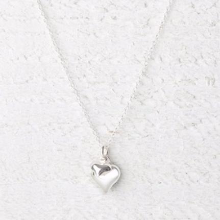 Davina Silver Heart Necklace