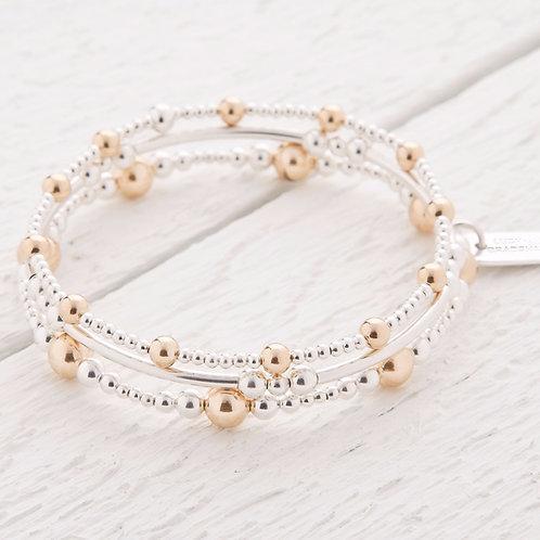 Imogen Gold Bracelet Stacking Set