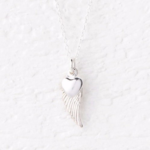 Lailah Small Angel Wing Necklace