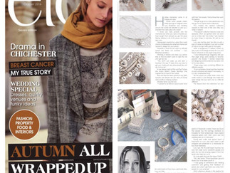 etc Magazine Editorial about Lucy Bradshaw Jewellery