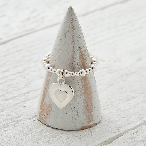 Seconds - Uriel Heart Charm Ring