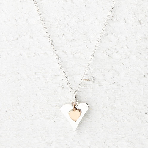 Lola Rose Gold Heart Necklace