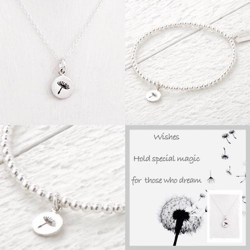 Daisy Bracelet & Necklace Set