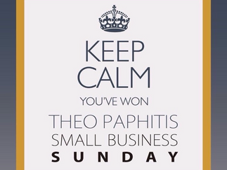 Keep Calm We Won Theo Paphitis #SBS