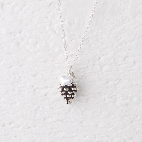 Azalea Pine Cone Necklace
