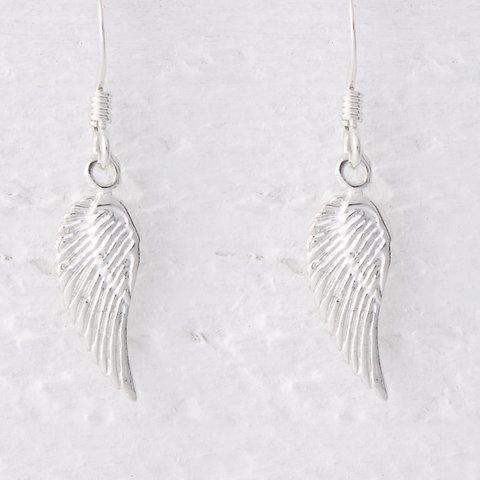Lailah Small Angel Wing Earrings