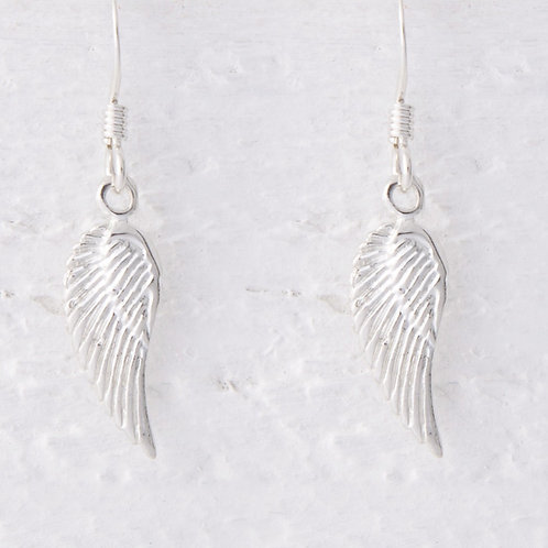 Lailah Small Angel Wing Earrings