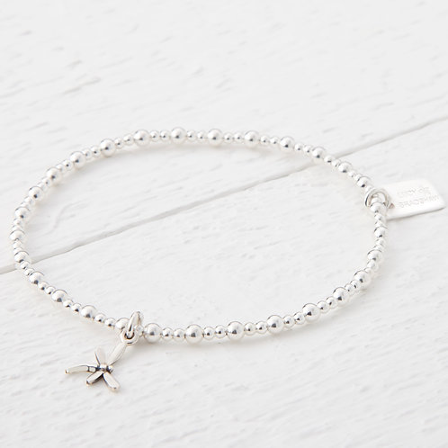 Dragonfly Silver Bracelet