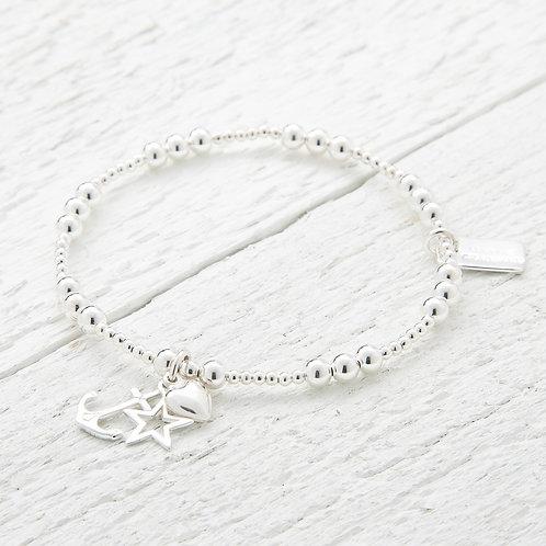 Ophelia Silver Bracelet