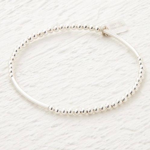 Saffron Silver Bracelet