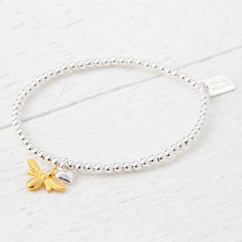 Beatrice Gold Bee Bracelet