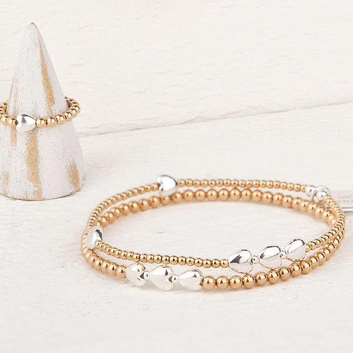 Isabella Gold Bracelet Set