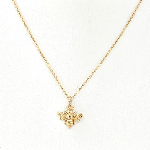 Belinda Gold Bee Necklace