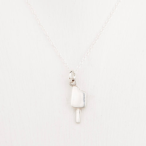 Lollie Silver Necklace