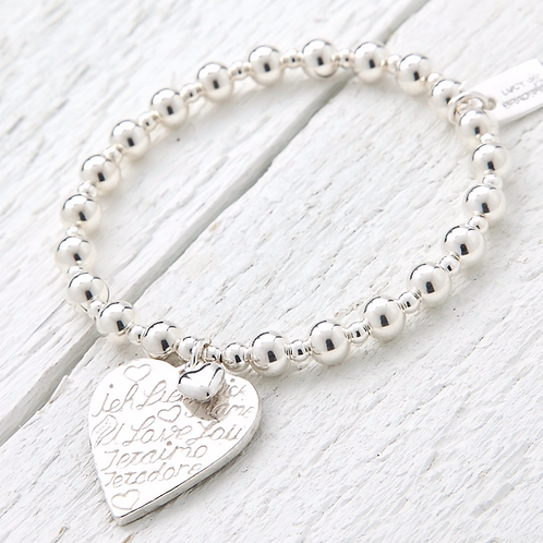 Amore Silver Bracelet