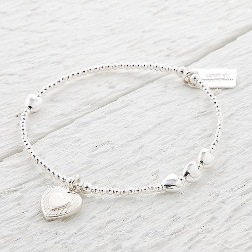 Catherine Heart Bracelet