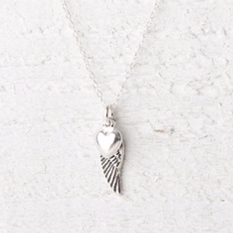 Angelina Small Angel Wing Necklace