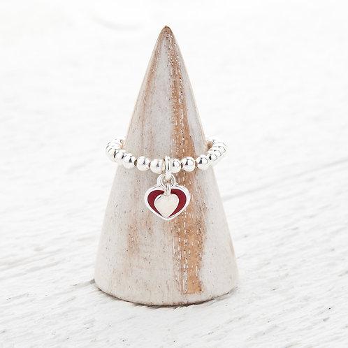 Faith Heart Ring
