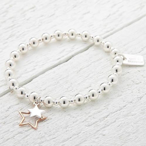 Aurora  Rose Gold Star Bracelet