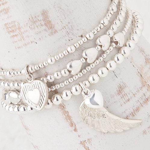Parisa Silver Bracelet Collection