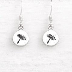 Daisy Dandelion Earrings