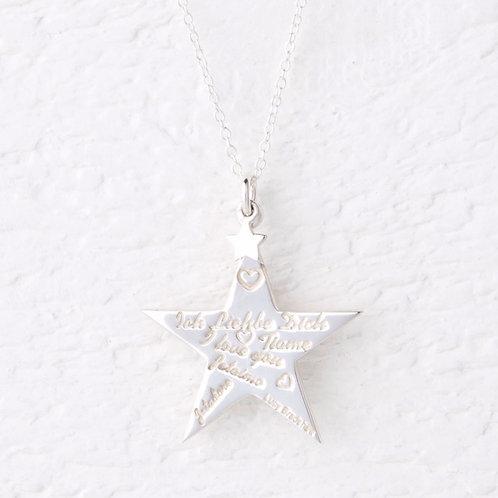 Cephei Star Necklace