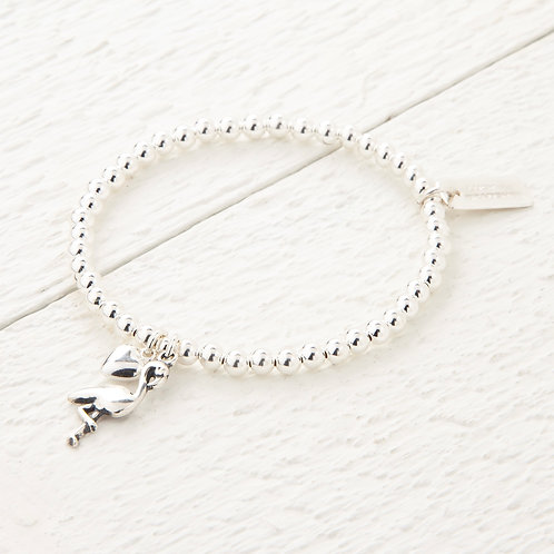Penelope Silver Flamingo Bracelet
