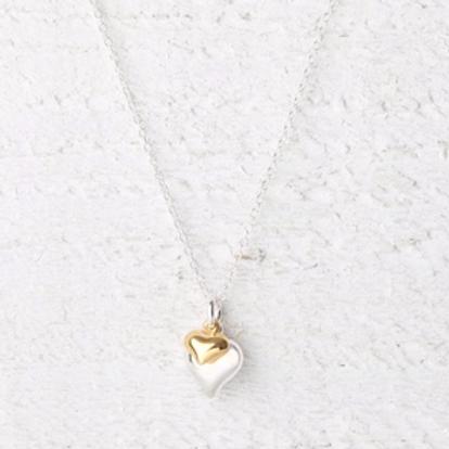 Davina Gold Heart Necklace