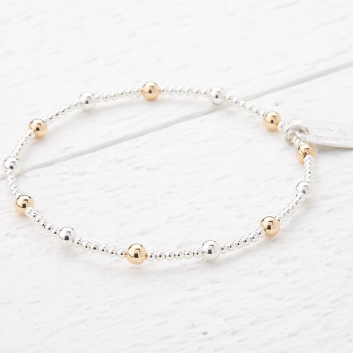 Sasha Silver & Gold Bracelet