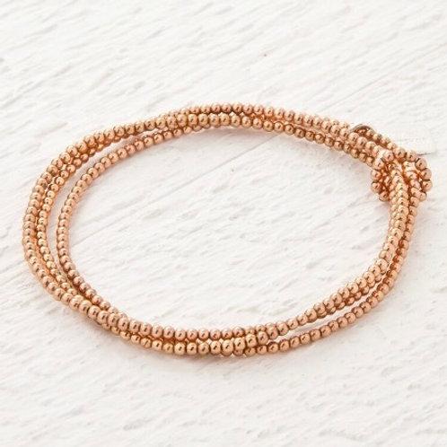 Octavia Rose Gold Set of 3 Bracelets