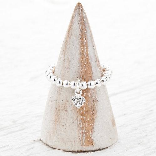 Gemma Heart Ring