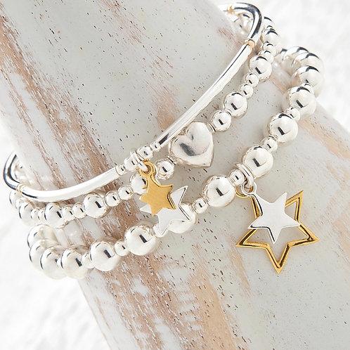 Seconds - Aurora Gold Star Bracelet Set