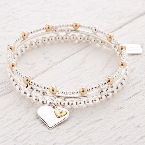 Olivia Gold Bracelet Set x 3 Bracelets