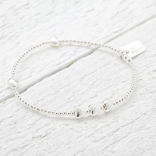 Isabella Heart Bracelet
