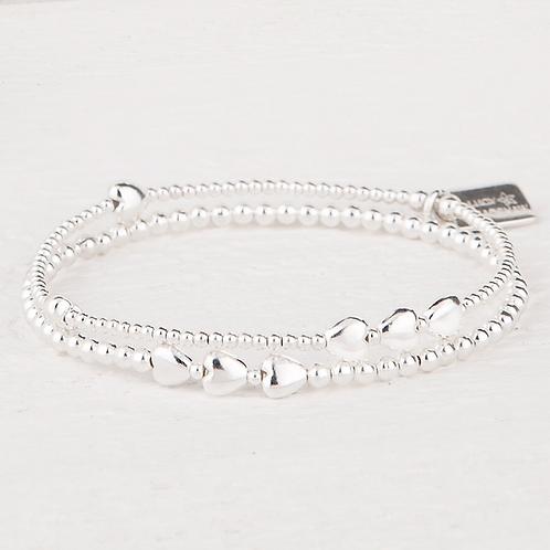 Isabella Silver Bracelet Set