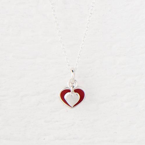 Faith Heart Necklace