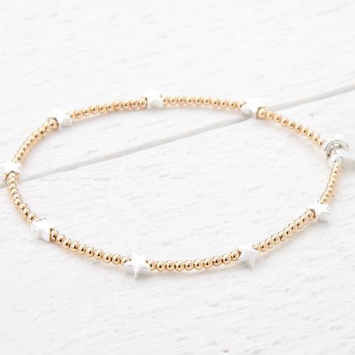 Trixabelle Gold Star Bracelet
