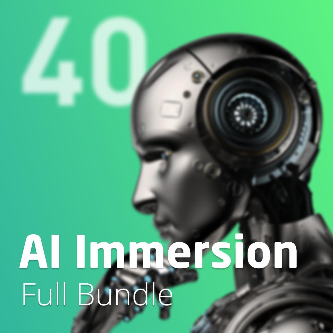 AI Immersion 40 Week Bundle - 001