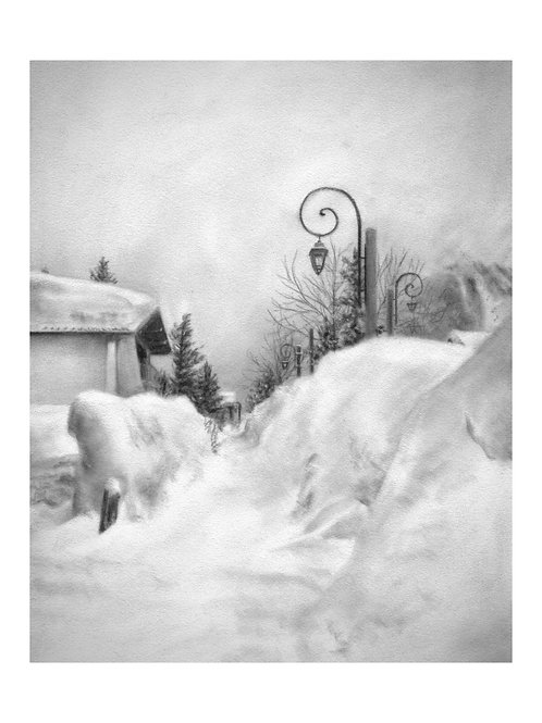 'Snowed In'Giclée Fine Art Print